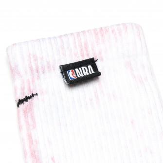 Nike NBA Everyday Plus Cushioned Socks ''White/Desert Berry''