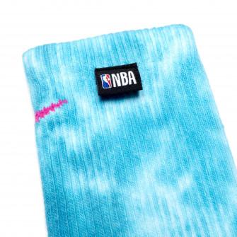 Nike NBA Everyday Plus Cushioned Socks ''White/Cyber Teal''