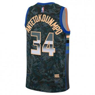 Nike NBA Bucks Giannis Antetokounmpo Select Series Jersey ''Hasta/Hyper Royal''