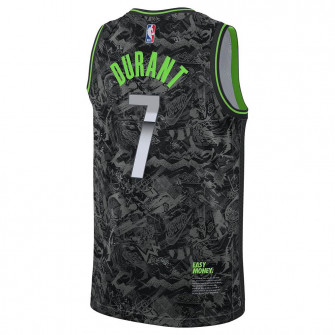 Nike NBA Nets Kevin Durant Select Series Jersey ''Black/Particle Grey''