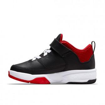Air Jordan Max Aura 3 ''Black/White-University Red'' (PS)
