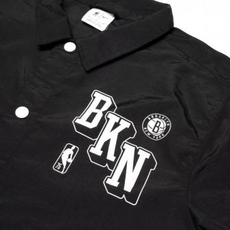 Nike NBA Brooklyn Nets Courtside Coach's Jacket ''Black''