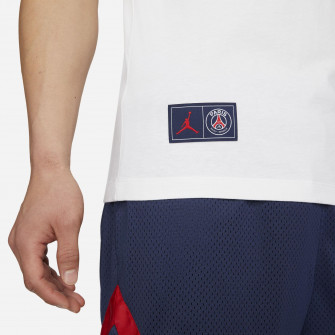 Air Jordan Paris Saint-Germain Logo T-Shirt ''White''