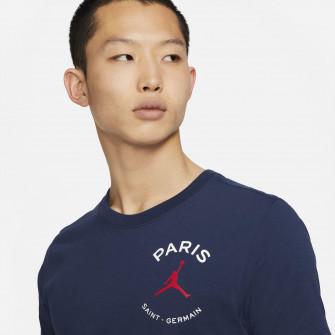 Air Jordan Paris Saint-Germain Logo T-Shirt ''Midnight Navy''