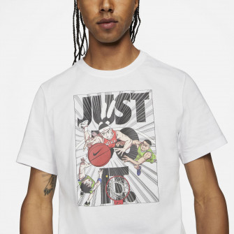 Nike Just Do It Basketball T-Shirt ''White''