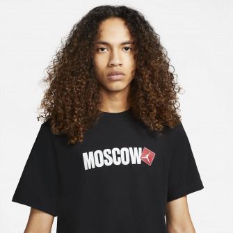 Air Jordan Moscow Print T-Shirt ''Black''
