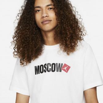 Air Jordan Moscow Print T-Shirt ''White''