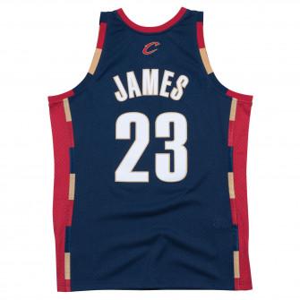 M&N NBA Cleveland Cavaliers Alt 2008-09 Swingman Jersey ''Lebron James''