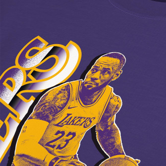 Nike NBA Lebron James Select Series T-Shirt ''Purple''