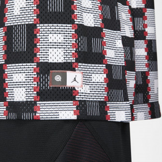 Air Jordan Quai 54 Off Court Jersey ''Black/White''