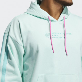 adidas Donovan Mitchell Fleece Hoodie ''Clear Mint''