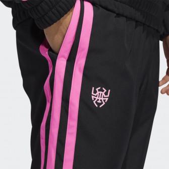 adidas Donovan Mitchell Pants ''Black/Pink''