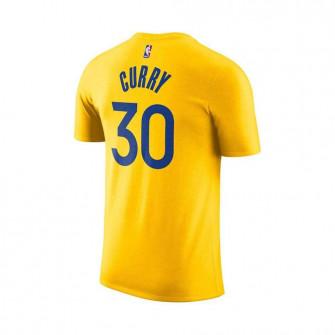 Air Jordan NBA Curry GSW Statement Edition Kids T-Shirt ''Yelllow''