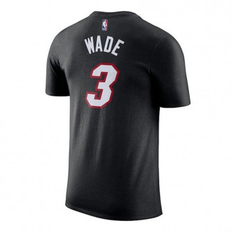 Nike NBA Miami Heat Dwayne Wade Icon Kids T-Shirt ''Black''