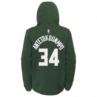 Nike Milwaukee Bucks Giannis Antetokounmpo Hoodie ''Fir''