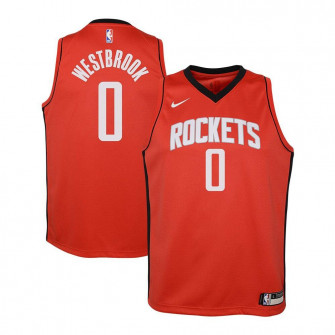 Nike Houston Rockets Russel Westbrook Swingman Jersey ''University Red''
