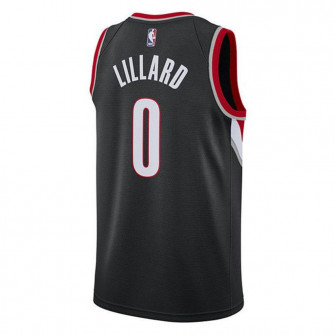 Nike NBA Portland Trail Blazers Damian Lillard Kids Jersey ''Black''