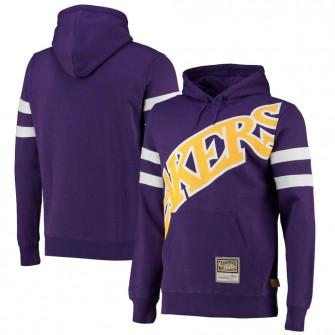 M&N NBA Los Angeles Lakers Substantial Fleece Hoodie ''Purple''