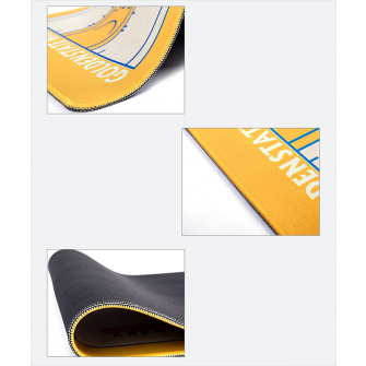 NBA Golden State Warriors Basketball Court Style Mouse Pad