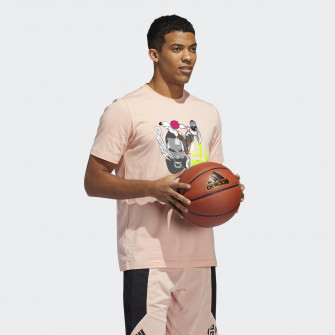 adidas Harden Geek Up Kick T-Shirt ''Glow Pink''