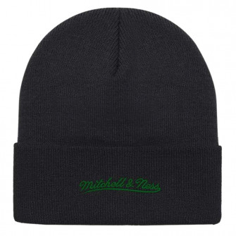 M&N Team Logo Boston Celtics Cuff Knit Hat ''Black''