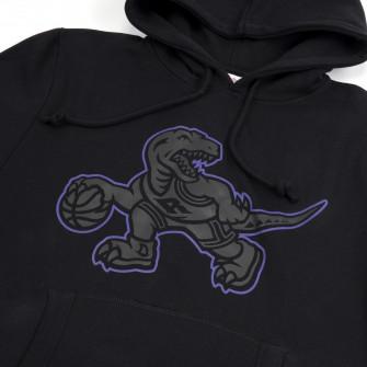 M&N NBA Toronto Raptors Logo Pop Hoodie ''Black''