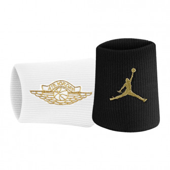 Air Jordan Jumpman x Wings Wristbands ''Black/White''