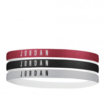 Air Jordan Headbands 3-Pack ''Black/White/Gym Red''