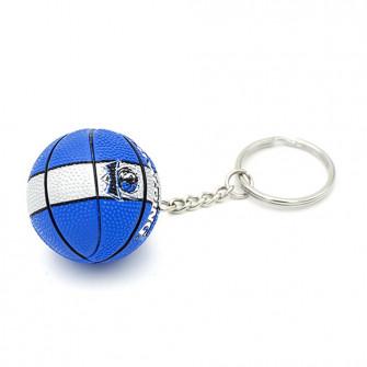 NBA Dallas Mavericks Basketball Keychain ''Blue/White''