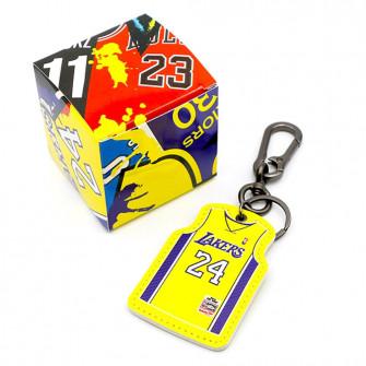 NBA Los Angeles Lakers Kobe Bryant Jersey Keychain ''Yellow''