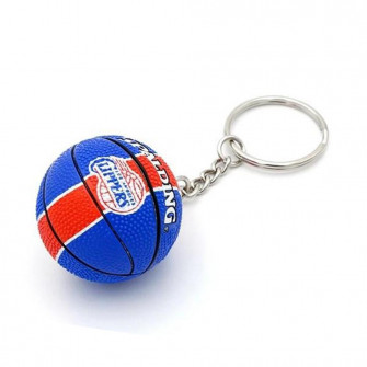 NBA Los Angeles Clippers Basketball Keychain ''Blue/Red''
