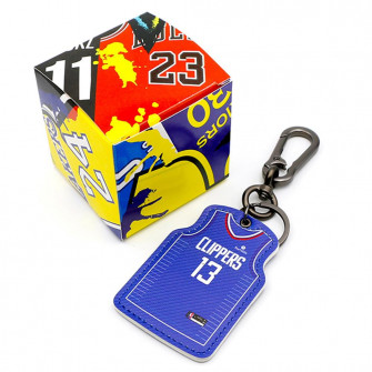 NBA Los Angeles Clippers Paul George Jersey Keychain ''Blue''
