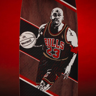 Grosbasket x JH_Boards Michael Jordan Skateboard ''His Airness''