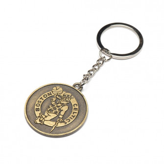 NBA Boston Celtics Team Retro Metal Keychain