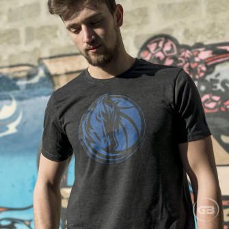 New Era Tonal Logo Dallas Mavericks T-Shirt ''Grey''
