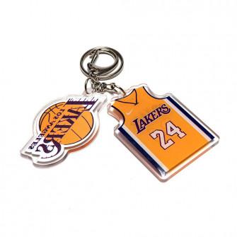 NBA Los Angeles Lakers Kobe Bryant Keychain ''Yellow''