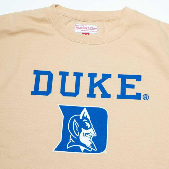 M&N NCAA Duke University Crewneck Hoodie ''Khaki''