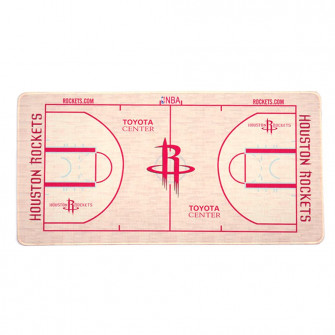NBA Houston Rockets Basketball Court Style Mouse Pad