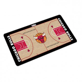 NBA Chicago Bulls Basketball Court Style Mouse Pad