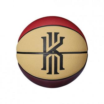 Nike Kyrie Irving Skills Mini Basketball (3) ''Black/Red/Yellow''