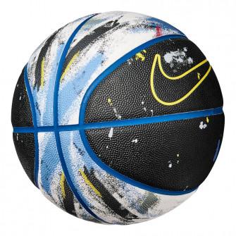 Nike Freeform Indoor/Outdoor Basketball (7) ''Black/Blue''
