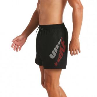 Nike Logo 5'' Volley Swimming Shorts ''Black''