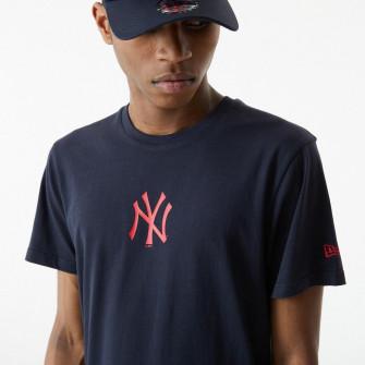 New Era MLB NY Yankees USA Baseball Bat Flag T-Shirt ''Navy''