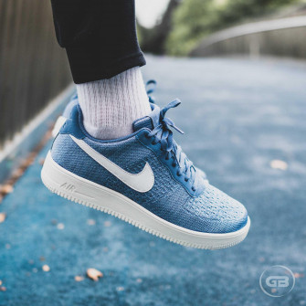 Nike Air Force 1 Flyknit 2.0 ''Ocean Fog''