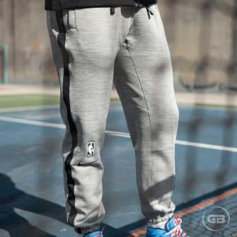 Nike NBA Therma Flex Brooklyn Nets Showtime Pants ''DK Grey Heather''