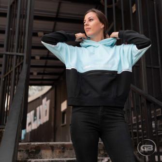 Nike Sportswear Archive Remix WMNS Hoodie ''Glacier Ice/Black''