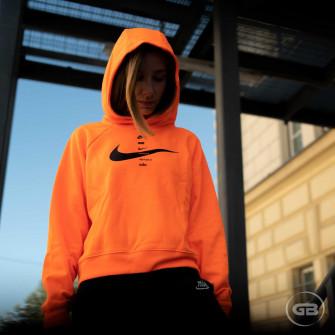 Nike Sportswear Swoosh Hoodie ''Total Orange''