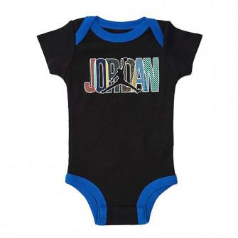 Air Jordan Jumpman Mismatch Baby Set ''Black/Blue''