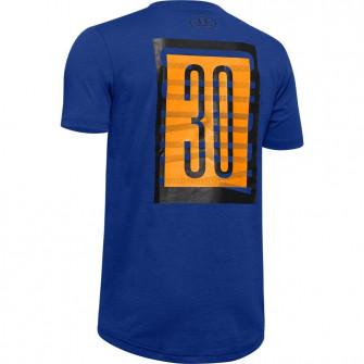 Otroška kratka majica UA SC30 Branded ''Royal''