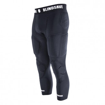 Blindsave 3/4 Tights With Full Protection ''Black''